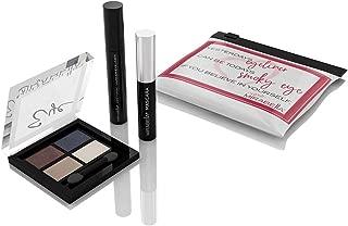 Mirabella Eye-Conic Mini's Trio Gift Set w/Mini Magic Marker Eyeliner, Mini Mascara & Mini Neutral Eyeshadow Quad in Zip-Top Pouch