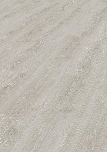 Tepcor Klick Vinylboden Premium Vinylbodenbelag mit Klicksystem Pflegeleichte und wasserfeste Vinyl Bodenbeläge in vielen verschiedenen Farben (Polareiche)