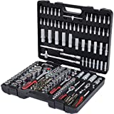 KS Tools Coffret de douille, Mallette à Outils 1/4 3/8 1/2 - 179 pcs - Chrome Vanadium - Mat Satinée