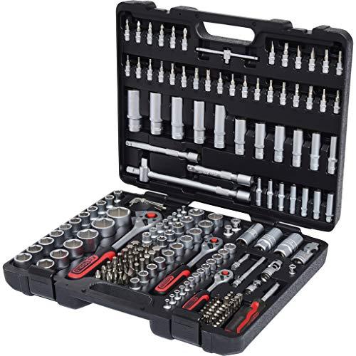 """KS Tools 917.0779 1/4"""" + 3/8"""" + 1/2"""" Steckschlüssel-Satz, 179-tlg."""