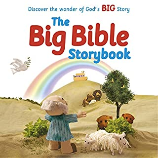 The Big Bible Storybook audiobook cover art