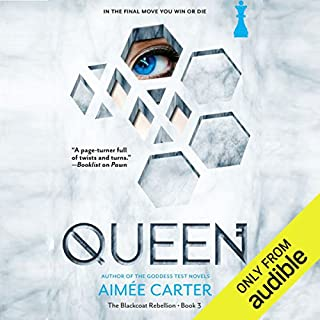 Queen audiobook cover art