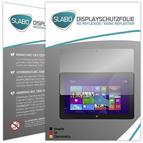 Slabo 2 x Bildschirmschutzfolie für Dell Venue 11 Pro Bildschirmschutz Schutzfolie Folie No Reflexion   Keine Reflektion MATT