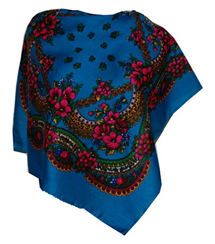 Supplied by Home Décor UK Amaizing rosas Vintage Folk estilo bufanda chal colección primavera verano
