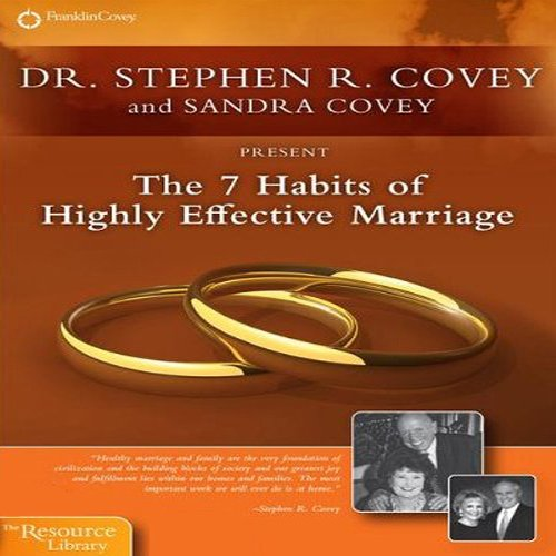 Couverture de The 7 Habits of Highly Effective Marriage