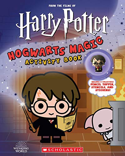 Harry Potter: Hogwarts Magic! Book with Pencil Topper