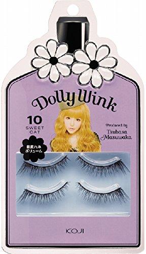 Koji Dolly Wink False Eyelashes #10 Sweet Cat (japan import)