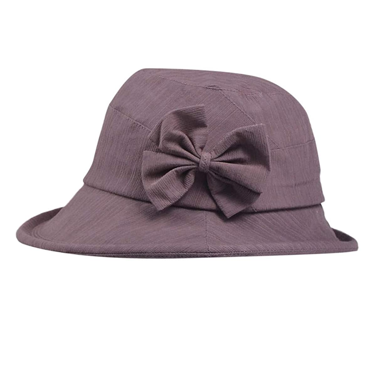 DDKK Hot New Sun Hats Women Wide Brimmed Floppy Foldable Bow-Knot UV Protection Summer Beach Hat Packable Visor