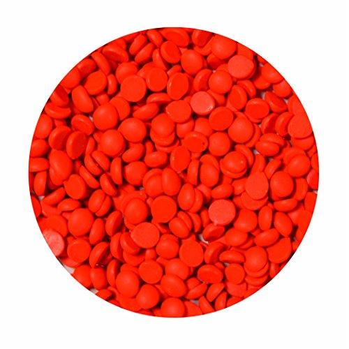 Wachsfarbe für Kerzen Neon orange für 1kg Wachs - Qualitätsfarbe zum Kerzen einfärben für Paraffin, Stearin, Kerzengel und Kompositionswachs