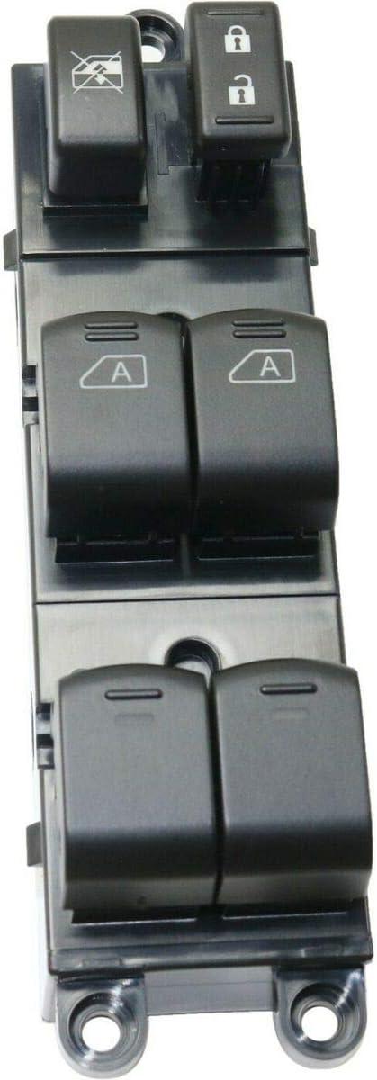 Power Window 安値 Switch Front Driver Left Hand LH Black Compati 即日出荷 Side
