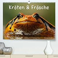 Kroeten & Froesche (Premium, hochwertiger DIN A2 Wandkalender 2022, Kunstdruck in Hochglanz): Die bunte Welt der Froschlurche (Monatskalender, 14 Seiten )