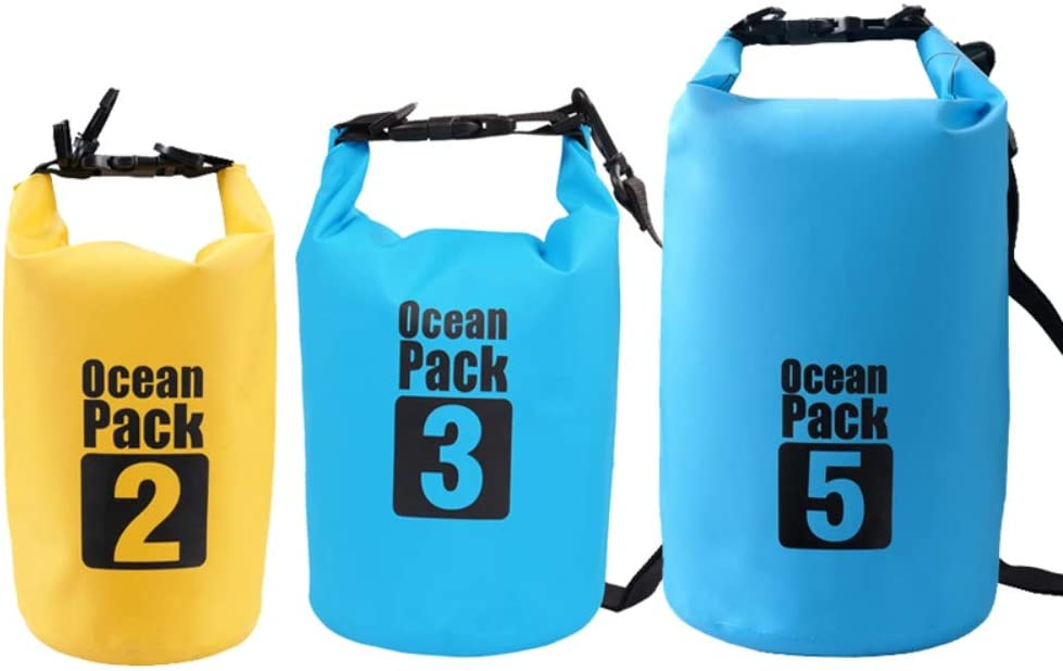 Biowlucn 2L 3L 5L Waterproof Dry Outdoor Bag Gorgeous F Buckled Super intense SALE PVC Beach