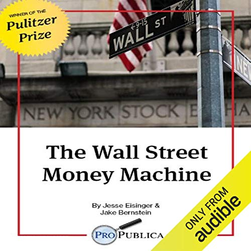 The Wall Street Money Machine audiobook cover art