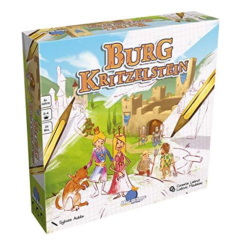 Preisvergleich Produktbild Asmodee Blue Orange BLOD0015 - Burg Kritzelstein,  Kinder-Spiel