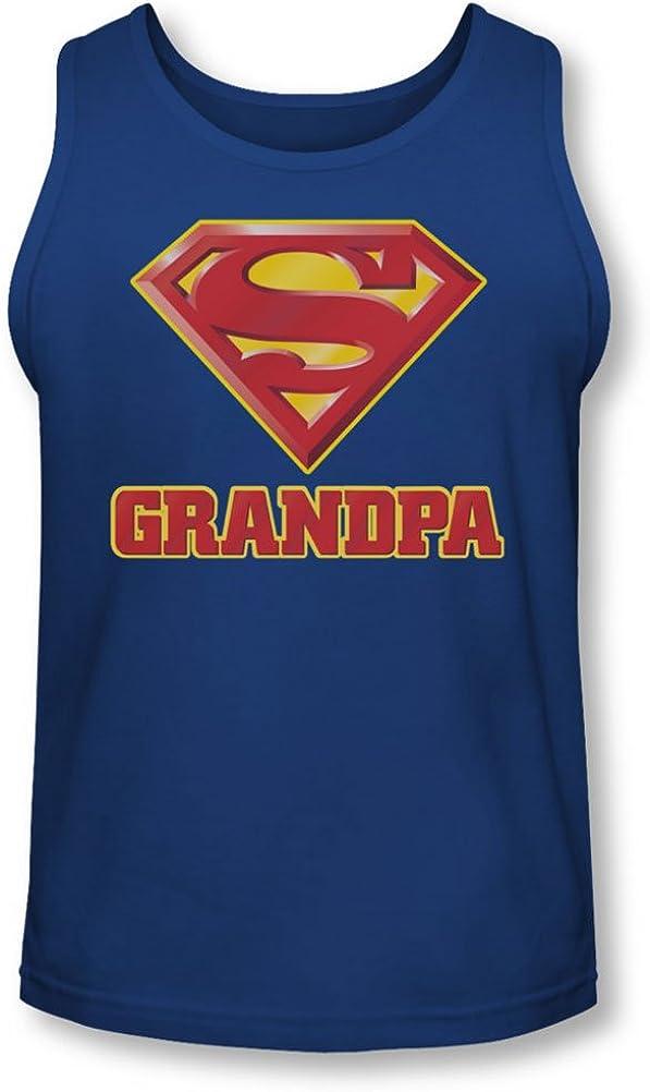Superman - Mens Super Grandpa Tank-Top