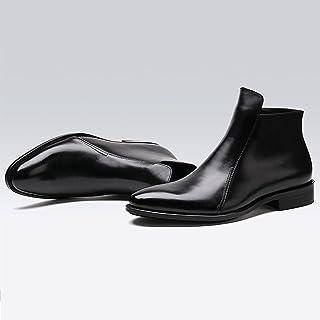 Calzado Sunny Zapatos de Trekking Hombres Calor Invierno Deportes de recreo al Aire Libre Verde Oscuro Gris Marrón Color : 1, Tamaño : EU41/UK7.5-8/CN42
