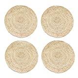 corn bran - Home·FSN Round Braided Placemats Set of 4, 100% Corn Bran Handmade 13.5 Inches Table Mats for Dining Tables, Wedding, Parties, BBQ's, Everyday, Holidays