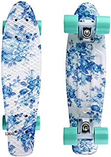 LMAI 22'' Cruiser Skateboard Graphic Mini Complete Skateboard