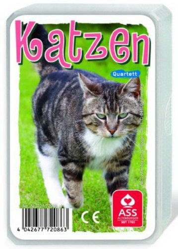 ASS Quartett Katzen, 1 Set