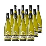 Les Tortues Colombard Sauvignon Côtes de Gascogne Blanc 2019 - Domaine d'Uby - Vin IGP Blanc du Sud-Ouest - Lot de 12x75cl - Cépages Colombard, Sauvignon Blanc