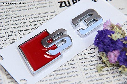 E383 S3 Emblem Zeichen Badge auto Abziehbild aufkleber 3D Schriftzug Plakette Car Sticker