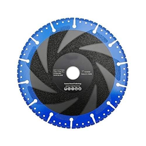 YUNJINGCHENMAN 1pc 180 mm Que se suelda la lámina del Diamante for de Uso múltiple de 7' Hierro Acero Piedra de demolición de la lámina para