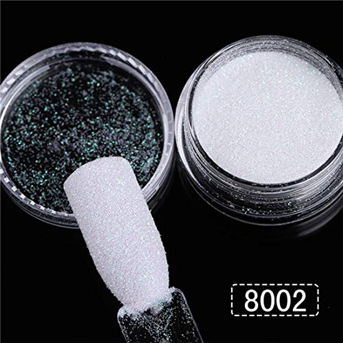 YYJHT Rapid rise 1Box Holographic Super Special SALE held Shining Nail 0.2mm Sequins Colorf Glitter