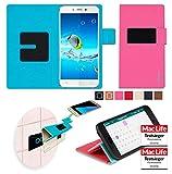 Hülle für JiaYu S2 Basic Tasche Cover Case Bumper | Pink