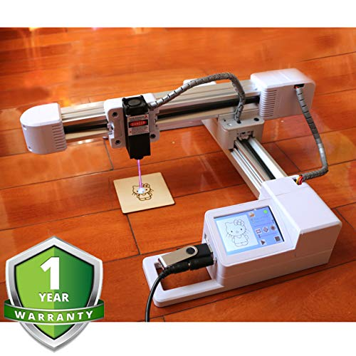 laser engraving machine Laser Engraver Printer Off-line 3000mW Upgrade Version CNC Pro DIY Logo laser engraver