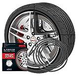 NEU - Rimblades mit 3M Kleber - Singlepackung - Farbe: schwarz - Premium Felgenschutz und Styling für Alufelgen bis 22'' ~ schneller Versand innerhalb 24 Stunden ~