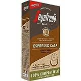 Segafredo - Capsulas de Cafe Espresso Casa - Compatible con Nespresso - Tueste Natural - Intensidad 10 - 10 Cápsulas