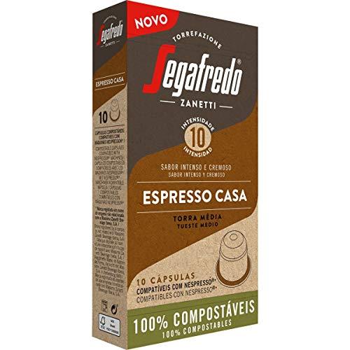 Segafredo - Capsulas de Cafe Espresso Casa - Compatible con