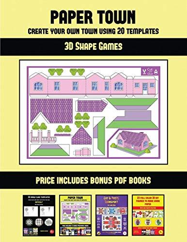 3D SHAPE GAMES (PAPER TOWN - C