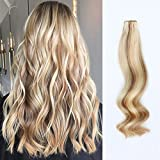 Best Tape In Hair Extensions - ABH AMAZINGBEAUTY Tape in Hair Extensions Human Hair Review