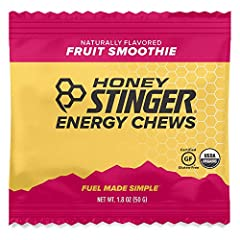 CONVENIENT: The ideal snack for athletes on-the-move, before or during workouts. Our Chews taste great and don't stick to your teeth. FUEL FOR EVERY ACTIVITY: Honey provides a sustained energy boost without the crash. Its low-glycemic qualities are p...