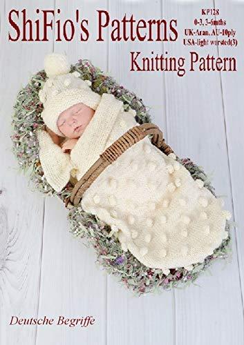 Strickanleitung - KP128 - Schlafsack – Pucksack für Babys in 2 Größen