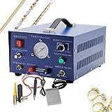 MXBAOHENG Pulse Argon Spot Welder 400W Welding Jewelry Gold Silver Platinum Palladium AC220V/110V (AC220V 50HZ)