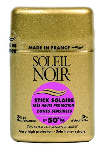SOLEIL NOIR 58 Stick Solaire Zones Sensibles Ip 50+ Très Haute Protection