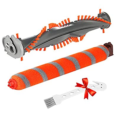 LINNIW Shark Brush Roll Replacement Kit Compatible with Shark DuoClean NV800, NV800W, NV801, NV801Q, NV803, UV810, HV380, HV380C, HV380W, HV381, HV381C, HV382, HV382BRN, HV383, HV384Q Vacuum Cleaner