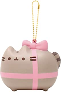 (Gift Wrapped) - Slow Rising [Squishy Collection] Pusheen Grey Tabby Cat [Gift Wrapped] Pusheen Series Ball Chain Adorable...