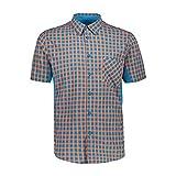 CMP Camicia Slim Fit Ad Asciugatura Rapida Coolmax, Uomo, Flash Orange-RIF, 58