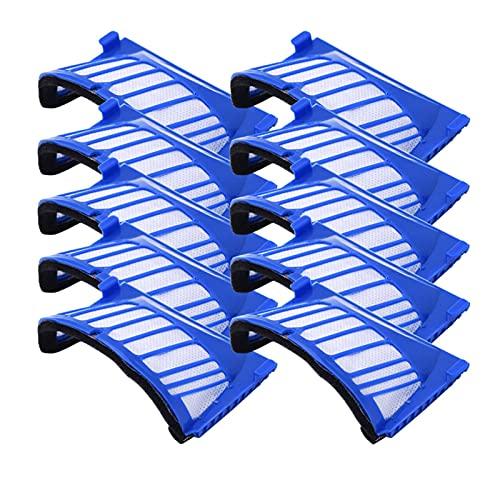 HNTYY 10 HEPA Pinselfilter Ersatzteile für ICH Roboter Fit für ROOMBA 500-Serie 600 536 550 551 620 650 Staubsauger Zubehör Staubsaugerteile (Color : HA00004x10)