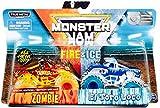 DieCast MonsterJam Fire & Ice 1:64 Scale [Zombie VS El Toro Loco]