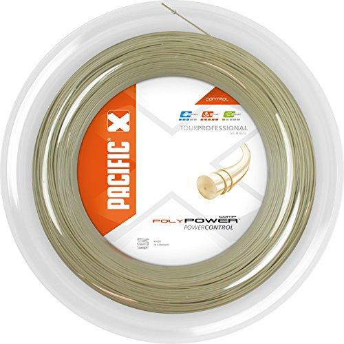 pacific Tennissaite Poly Power COMP - 200m-Rolle, natur, 1.20mm/17, PC-2069.74.00