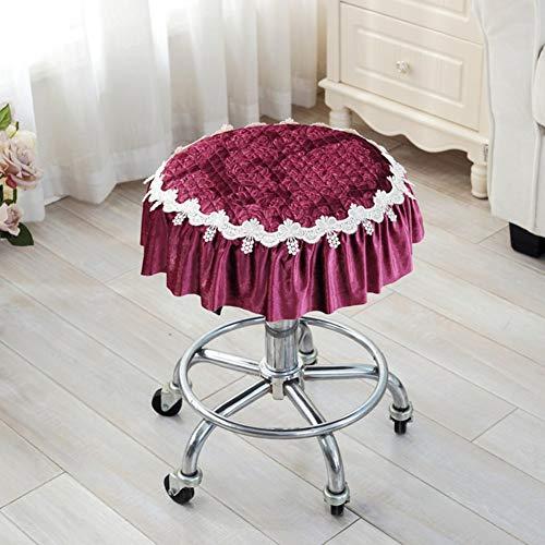 YLCJ kussen met vier seizoenen, verdikkingsstoel, kleine kussensloop, ronde kussensloop, zitstoel, ronde zitkussen, diameter 35cm (14inch)