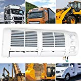 OUKANING Enfriador de Aire Acondicionado de 200W 12V para Camión de Coche Caravana Autobús Aire Acondicionado de Pared Kit de Ventilador de Enfriamiento de Aire Acondicionado