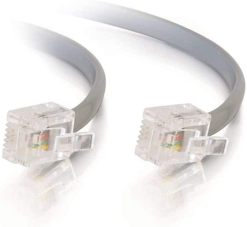 BoltLion BL-695235 7 Feet RJ11 Premium Rare Cable Telephone Modular Max 85% OFF