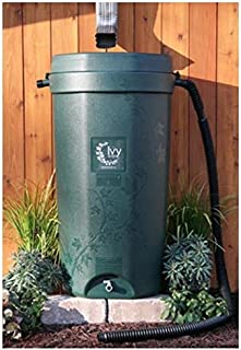 Rain Water Solutions 50 Gallon Rain Barrel