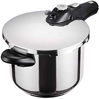 Stainless Steel Pressure Cooker Rice Cooker, Kitchen Home 6L Electric Pressure Cooker For All Home Dining Kitchen Cooking, Induction Cooker Gas Cooker Universal