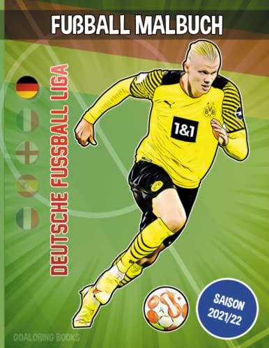 Fußball Malbuch: Deutsche Fussball Liga